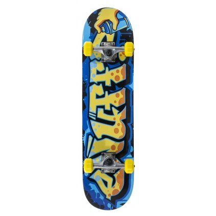 "Enuff - Graffiti V2 - 7,25"" - 7,75"" - Yellow skateboard"