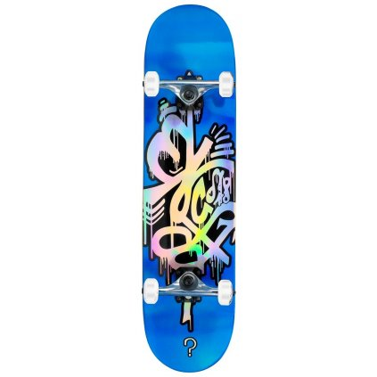 "Enuff - Skateboard Hologram Blue 8"" - skateboard"