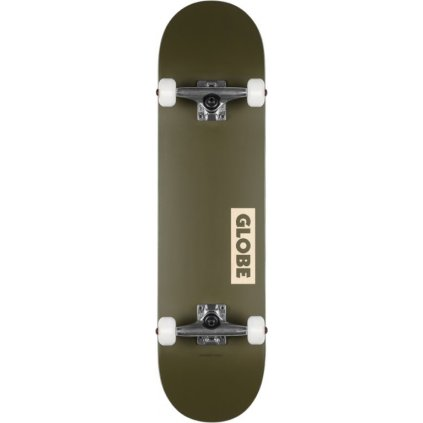 "Globe - Goodstock - Fatigue Green 8.25"" - skateboard"