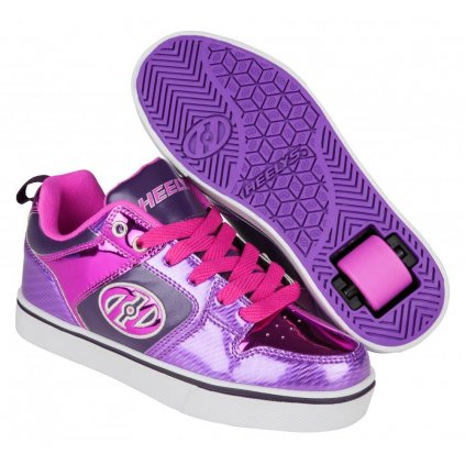 Heelys - Motion Plus Purple/Pink Shimmer/Grape - koloboty