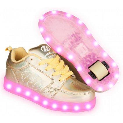 Heelys - Premium 2 Lo Yellow Hologram - koloboty