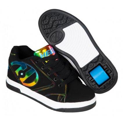 Heelys - Propel 2.0 Black/Rainbow Foil - koloboty