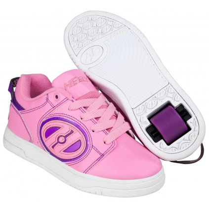 Heelys - Voyager Light Pink/Purple - koloboty