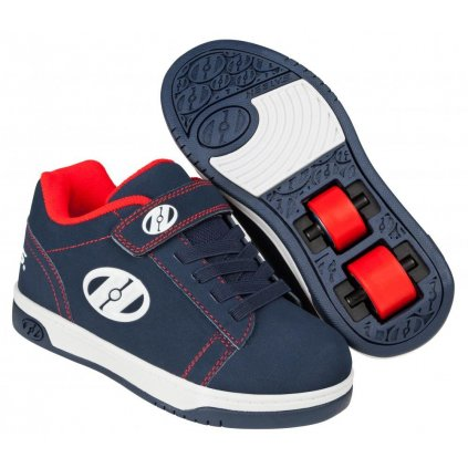Heelys - X2 Dual Up Navy/Red/White - koloboty
