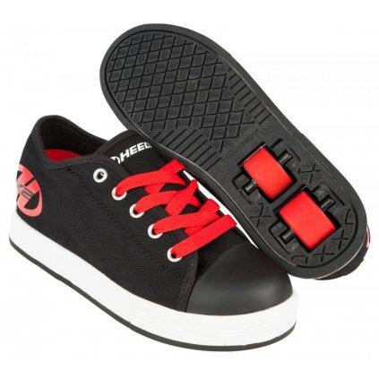 Heelys - X2 Fresh Black/Red - koloboty