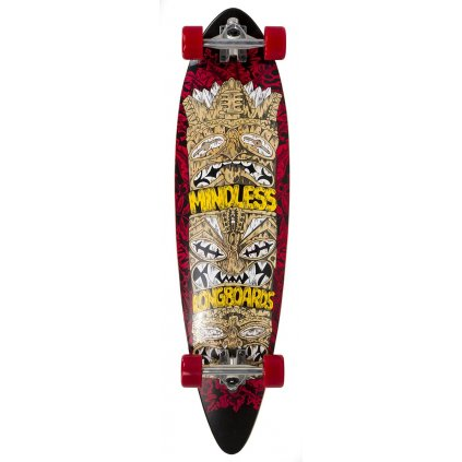 "Mindless - Rogue V4 Red 38"" longboard"