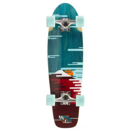 "Mindless - Sunset Cruiser 28"" Green - longboard"