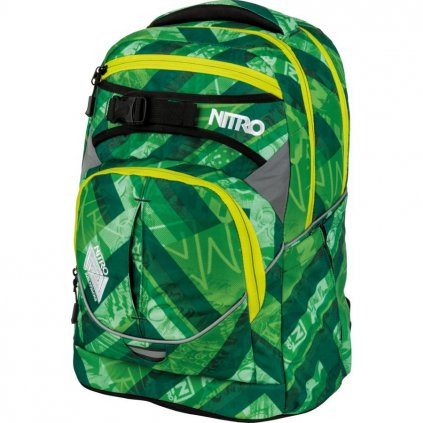 Nitro - Superhero - Wicked Green - Batoh 30l