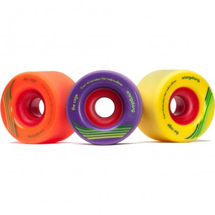 Orangatang - Cage Wheels 73 mm 80a/83a/86a (sada 4 ks)