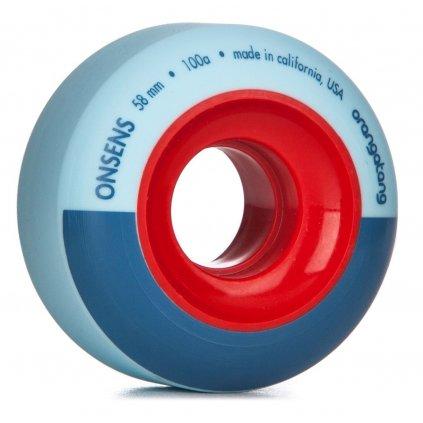 Orangatang - Onsens 58 mm - 100a - kolečka (sada 4 ks)