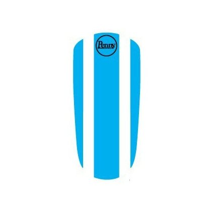 "Penny Panel Sticker 22"" - Blue"