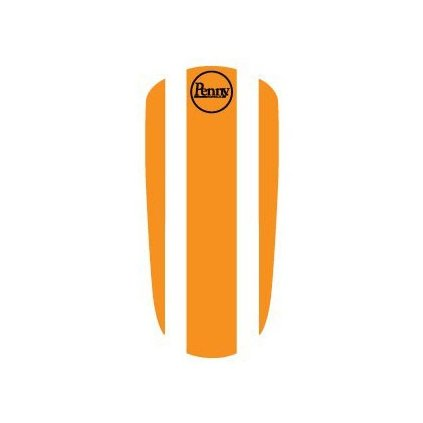 "Penny Panel Sticker 22"" - Orange"