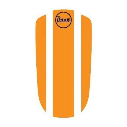 "Penny Panel Sticker 27"" - Orange"
