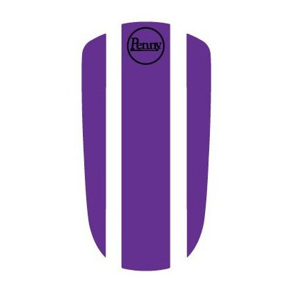 "Penny Panel Sticker 27"" - Purple"