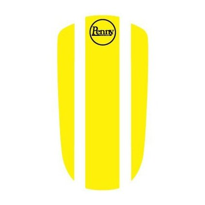 "Penny Panel Sticker 27"" Yellow"