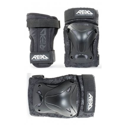 Rekd - Recreational Triple Pad Set - Black