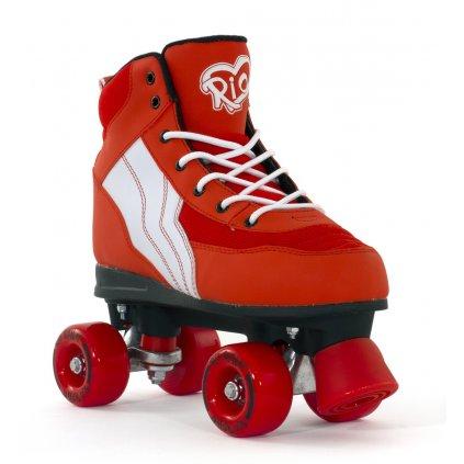 Rio - Roller Pure Red - trekové brusle