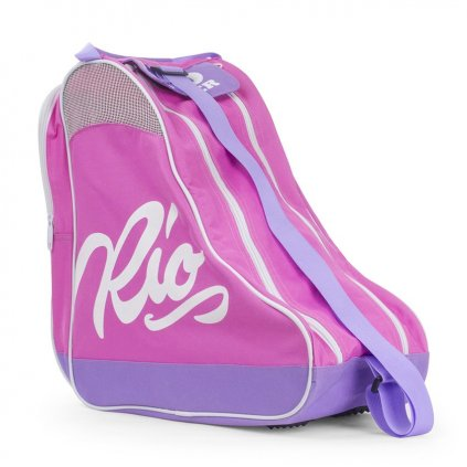 Rio - Roller Script Bag Pink/Lilac