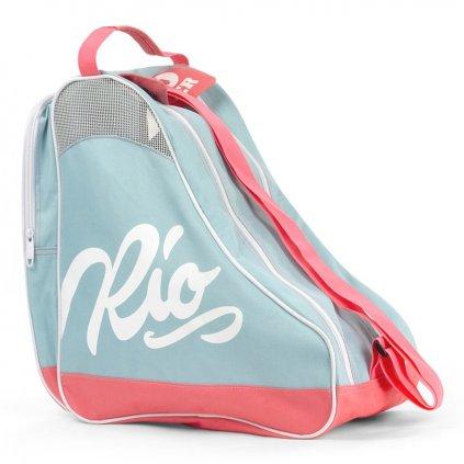 Rio - Roller Script Bag Teal/Coral
