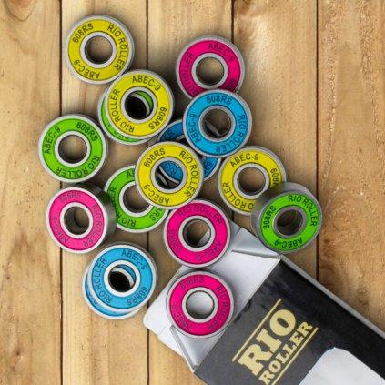 Rio Roller - Bearings - ložiska - sada 16ks pro brusle