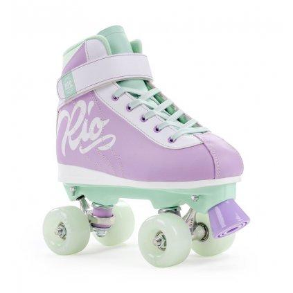 Rio Roller - Milkshake - Mint Berry - trekové brusle