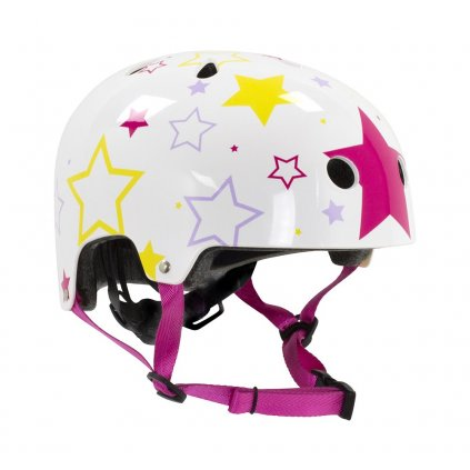SFR - Adjustable Kids White/Pink - helma