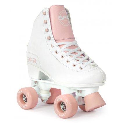 SFR - Figure White/Pink trekové brusle