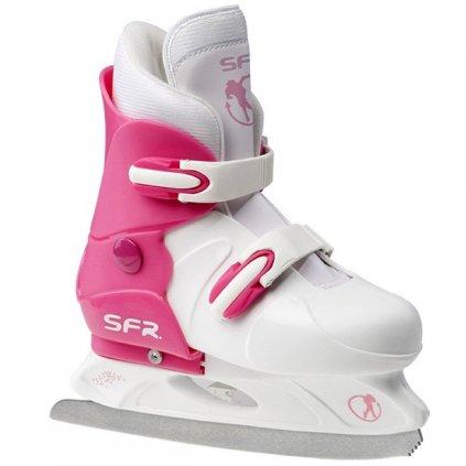 SFR - Girls Adjustable Hard - nastavitelné lední brusle