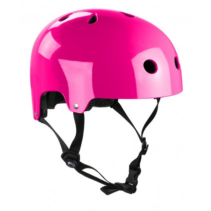 H159 SFR Essentials Helmet Gloss Fluo Pink Main