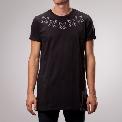 Shine - Chiefchain Long Black - Pánské triko