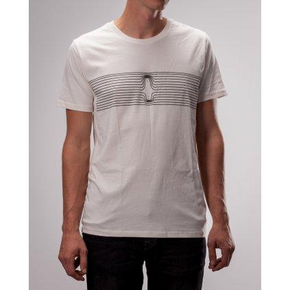 Shine - Magnetic Force White - Pánské triko