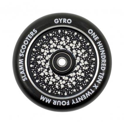 Slamm - Gyro Hollow Core Black 110 mm kolečka (1ks)