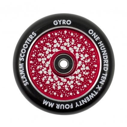 Slamm - Gyro Hollow Core Red 110 mm kolečka (1ks)