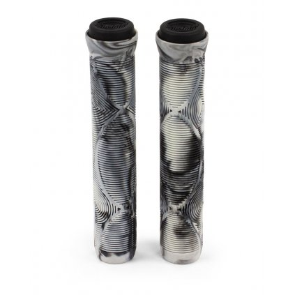 Slamm - Team Swirl Bar Grips - Urban Grey