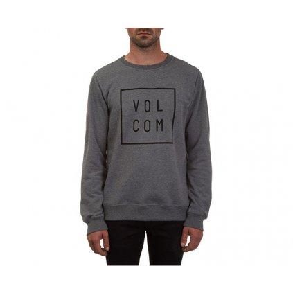 Volcom - Aperture Crew Dark Grey - Pánská mikina