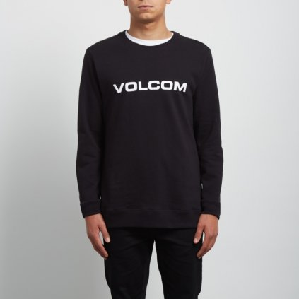 Volcom - Imprint Crew Black - Pánská mikina