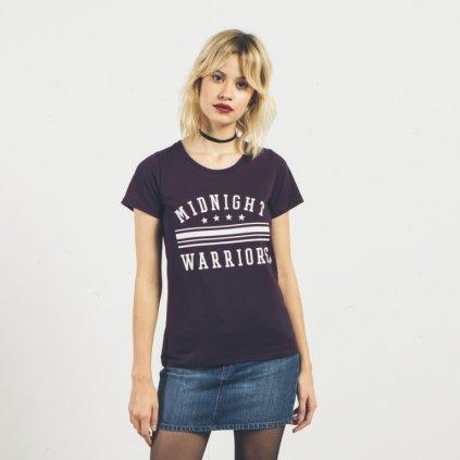 Volcom - Radical Daze Tee Plum - Dámské tričko