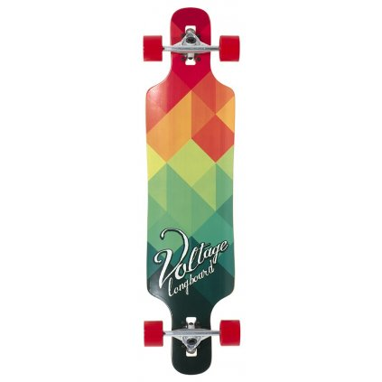 "Voltage - Cubism DT V2 39"" Green longboard"