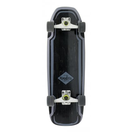 "Mindless - Surf Skate 30"" Black - surfskate"
