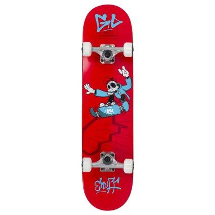 """Enuff - Skully Red 7,75"""" / 7,25"""" - skateboard"""