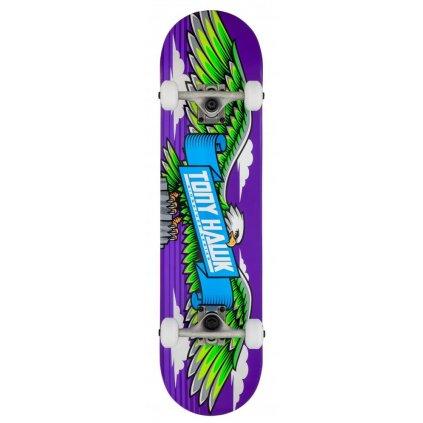 """Tony Hawk - SS 180 Wingspan Purple - 7.75"""" - skateboard"""