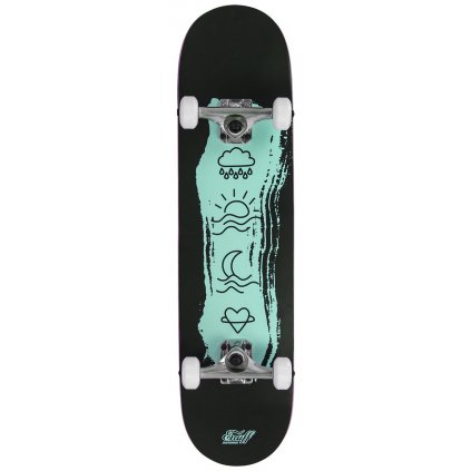 "Enuff - Icon Green - 7,75"" / 7,25""- skateboard"