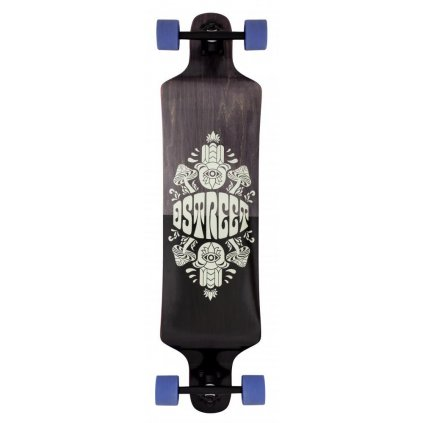 "D-Street - Drop Down Tripout Grey 40"" - longboard"