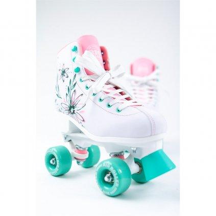 Rio - Roller Artist Flora Pink/Green - trekové brusle