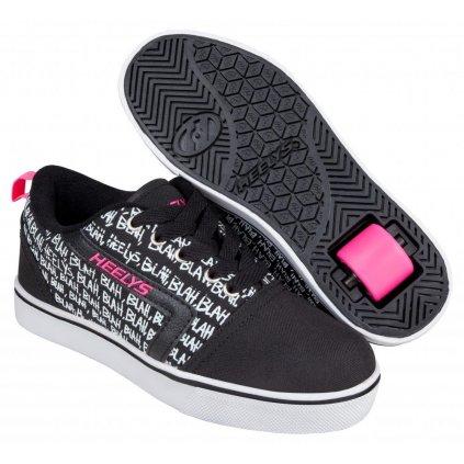 Heelys - GR8 Pro Prints Black/Hot Pink/Blah - koloboty