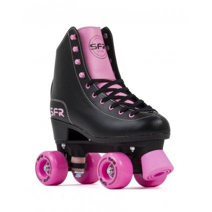 SFR - Figure Black/Pink trekové brusle