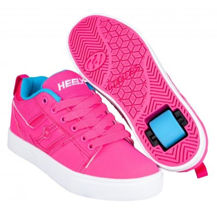 Heelys - Racer Hot Pink/Light Blue - koloboty