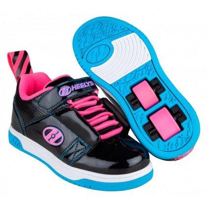 Heelys - Rift X2 Black/Neon Pink/Cyan - koloboty