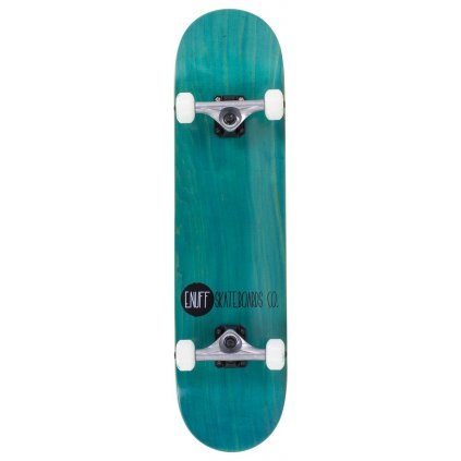 "Enuff - Logo Stain - 8"" - Teal skateboard"
