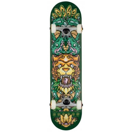 "Rocket - Wild Pile-up Green - 7.5"" - skateboard"